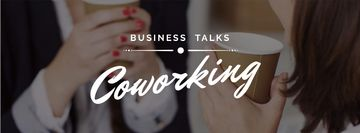 Business Women holding Coffee cups