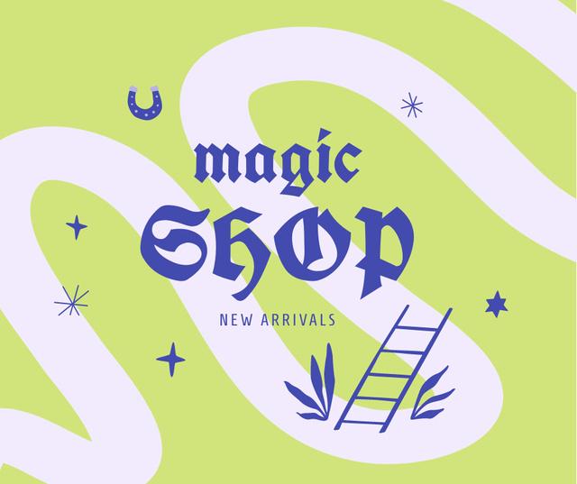 Modèle de visuel Astrological Shop Sale Offer - Facebook