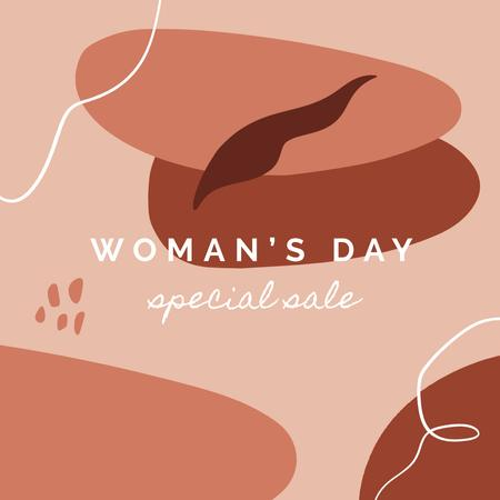 Plantilla de diseño de Special Sale on Women's Day Instagram AD