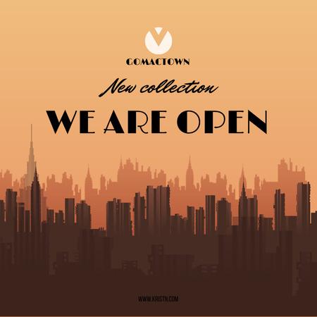 Designvorlage Fashion collection Advertisement für Instagram