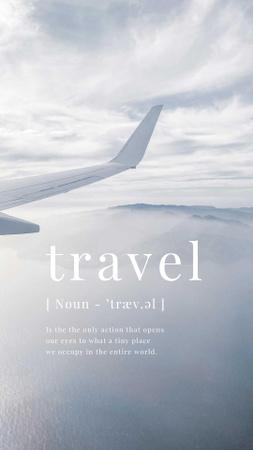 travel Instagram Story – шаблон для дизайну