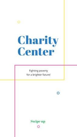 Charity Center Services Offer Instagram Story Design Template