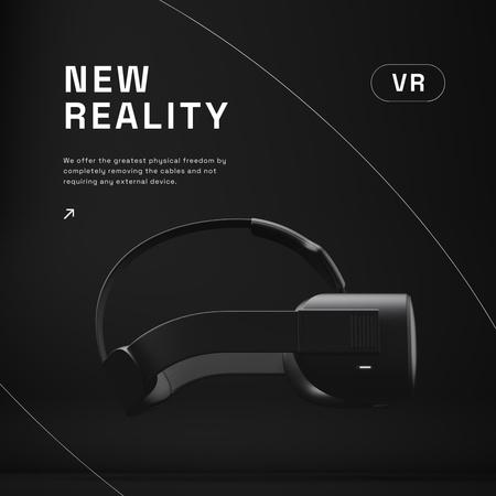 Ontwerpsjabloon van Instagram van Virtual Reality Glasses Sale Ad