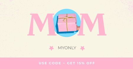 Plantilla de diseño de Gift Offer on Mother's Day Facebook AD