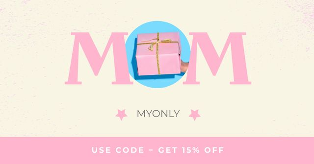 Gift Offer on Mother's Day Facebook ADデザインテンプレート