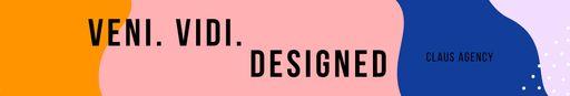 Design Agency Slogan On Retro Pattern