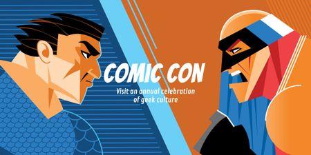 Designvorlage Comic Con International event für Image