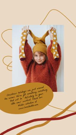 happy child Instagram Story – шаблон для дизайна
