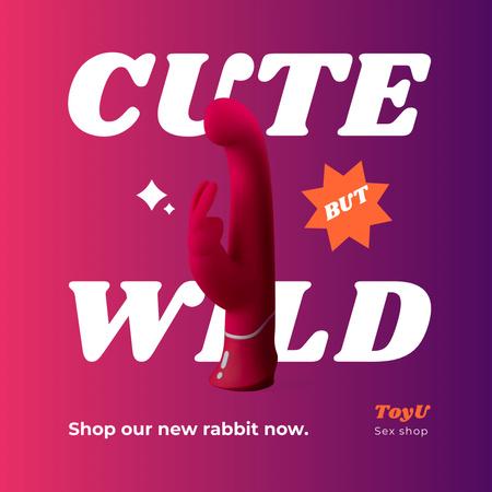 Funny Sex Shop Ad Instagram – шаблон для дизайну