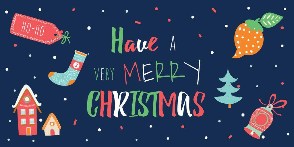 Merry Christmas card Image – шаблон для дизайна