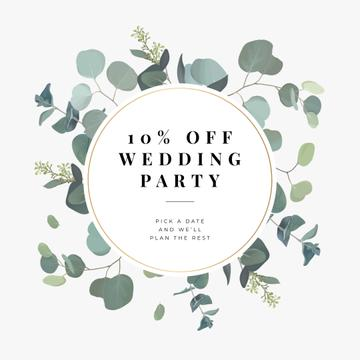 Wedding Party planning offer