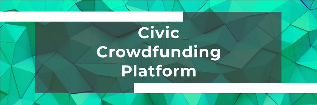 Civic Crowdfunding Platform — Crea un design
