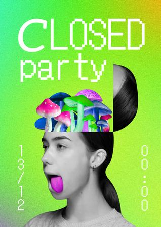 Party Poster – шаблон для дизайну