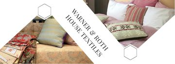 House Textiles Offer with Pillows