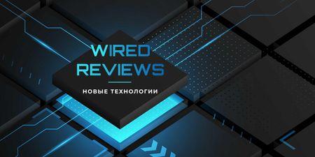 Tech Reviews on chip Twitter – шаблон для дизайна