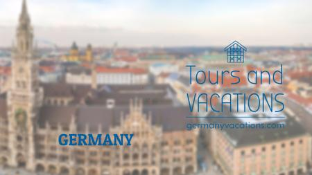 Ontwerpsjabloon van Full HD video van Tour Invitation Germany Famous Travelling Spots