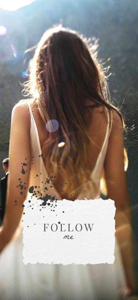 Young Woman in sunshine — Crear un diseño