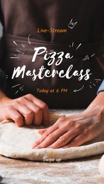 Live Stream of Pizza Masterclass Ad