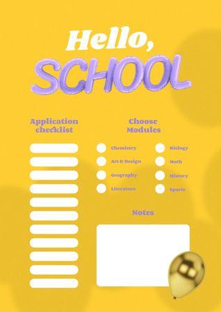 Design template by Crello Schedule Planner – шаблон для дизайна