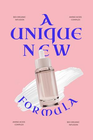 Skincare Offer with Serum Bottle Pinterest – шаблон для дизайна