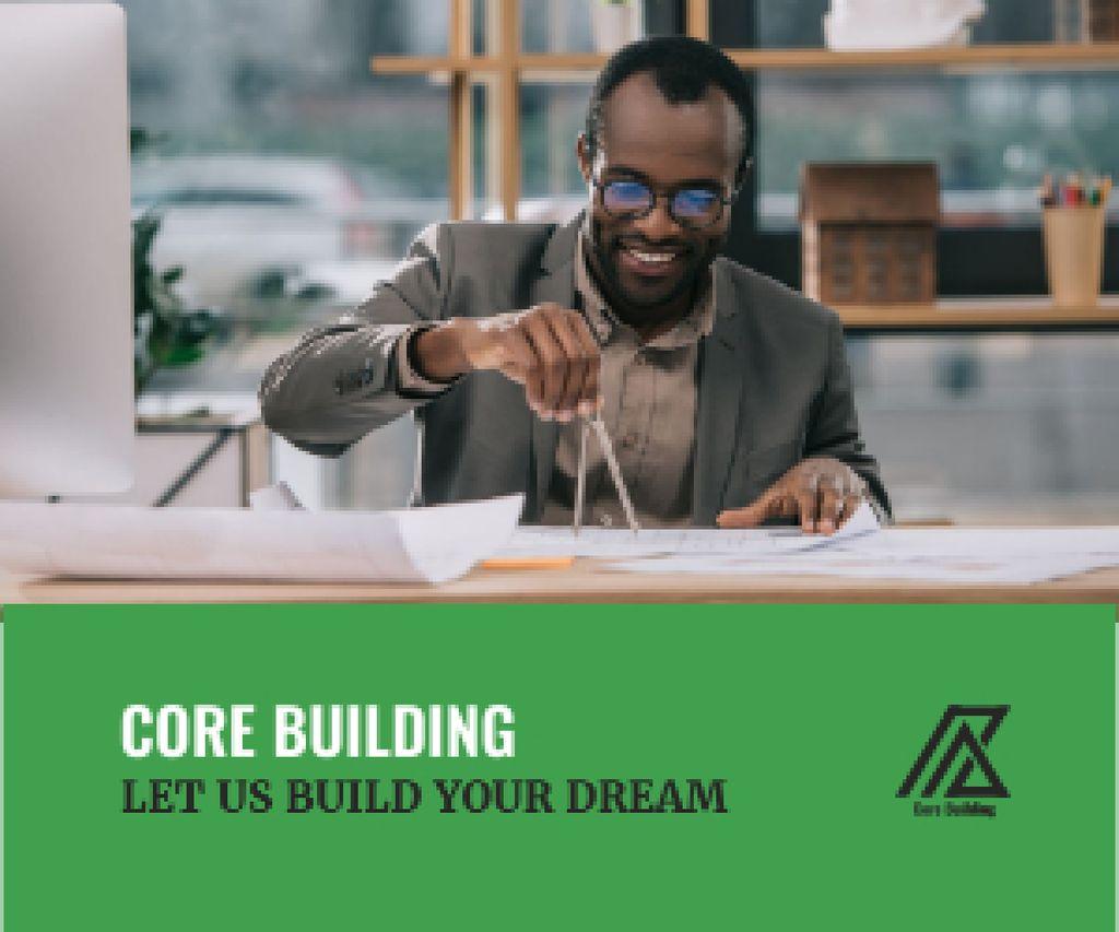 Architect Working with Blueprints - Bir Tasarım Oluşturun