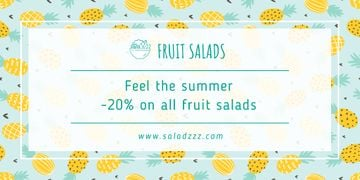 Fruit salads sale