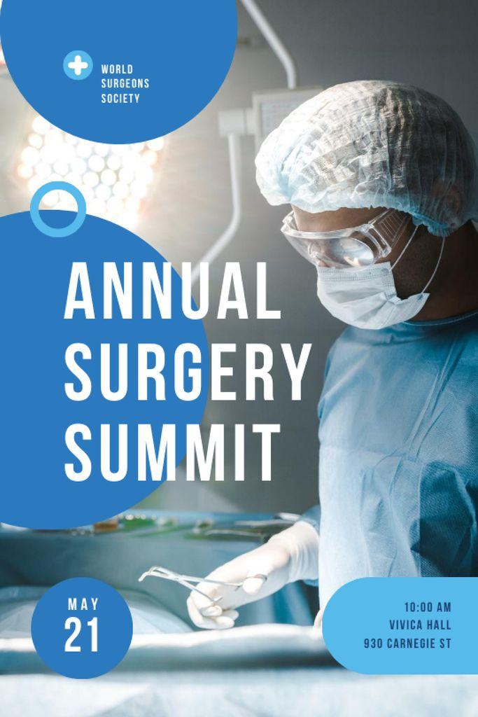 Szablon projektu Annual Surgery Summit Announcement Tumblr