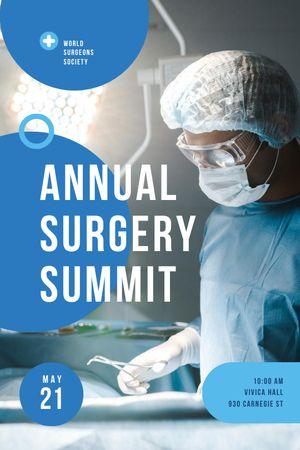 Annual Surgery Summit Announcement Tumblr tervezősablon