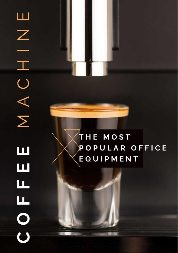 Coffee machine Offer — Crear un diseño