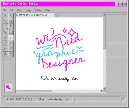 Creative Ad of Graphic Designer Vacancy Facebook Design Template