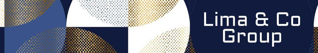 Business Company profile on abstract pattern — Crear un diseño