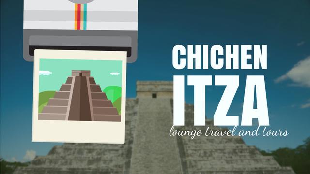 Chichen Itza Famous Sights Full HD video – шаблон для дизайну