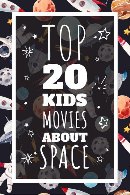 Kids playing in space Tumblr – шаблон для дизайну