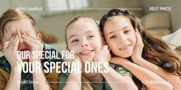 Kids Goods Promotion Happy Children