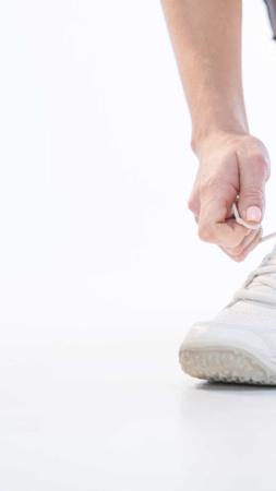 Plantilla de diseño de Business event Ad in White with sneakers Instagram Story