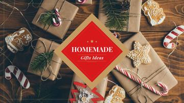 Handmade Christmas Gift Ideas with Wrapped Boxes