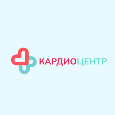 Charity Medical Center with Hearts in Cross Animated Logo – шаблон для дизайна