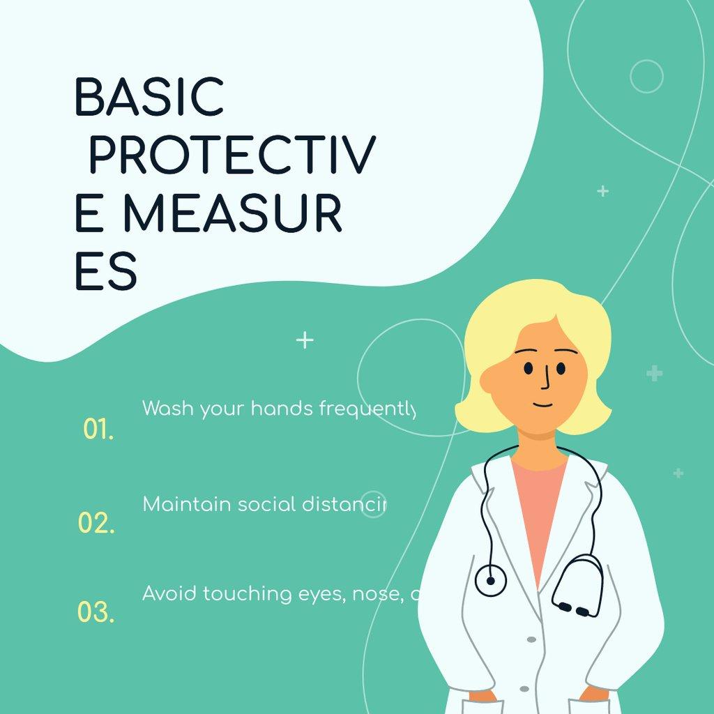 Basic Protective Measures with Doctor - Bir Tasarım Oluşturun