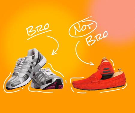 Modèle de visuel Stylish Shoes funny promotion - Facebook