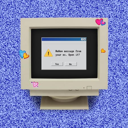 Funny Joke about Message from Ex Instagram – шаблон для дизайна