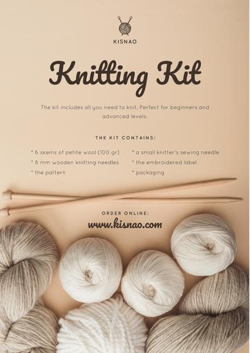 Knitting Kit Offer With Spools Of Threads