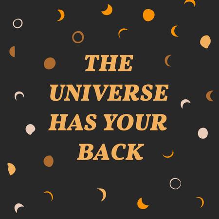 Astrological Inspiration on Lunar Pattern Instagram Modelo de Design