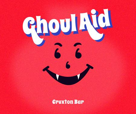 Modèle de visuel Funny Bar Promotion with Spooky Character - Facebook