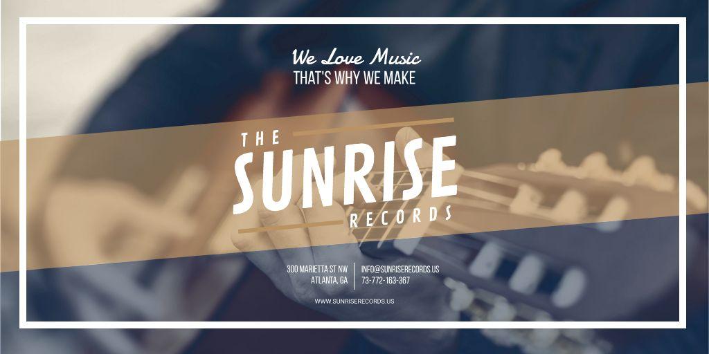 Records Studio advertisement — Maak een ontwerp