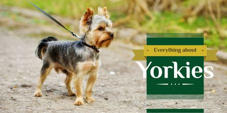 Szablon projektu Everything about Yorkies banner  Image