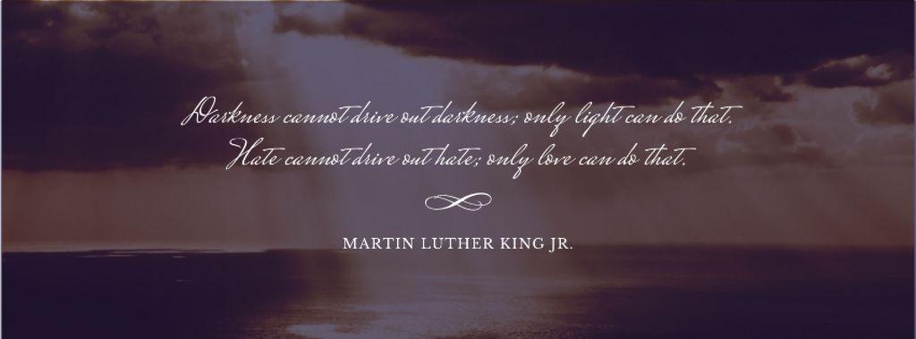 Martin Luther King day — Создать дизайн