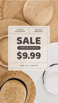 Accessories Store Sale Summer Straw Hats