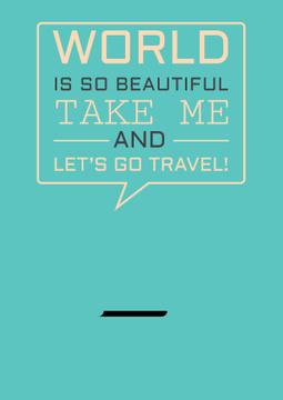 Motivational travel Quote
