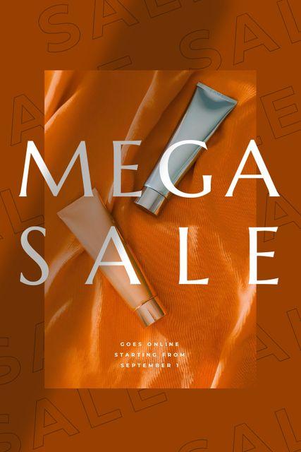 Szablon projektu Beauty Sale with cosmetics Tumblr
