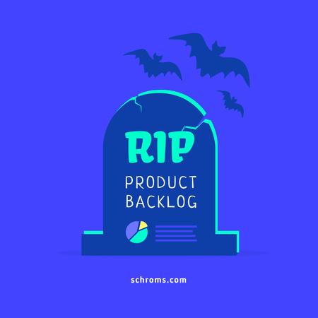 Funny Joke about Product Backlog Instagram – шаблон для дизайну